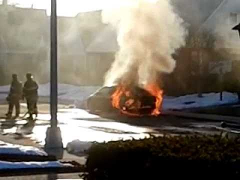 FDNY Car Fire (Part 1 of 4)