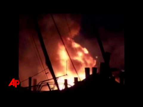 North Carolina Marina Fire