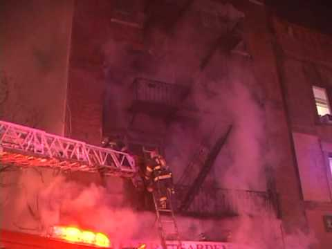 Newark 3-Alarm Fire with Rescues (Part 3)
