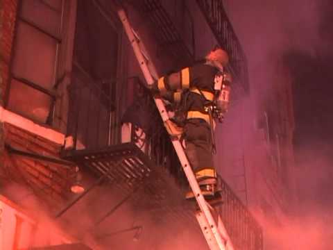 Newark 3-Alarm Fire with Rescues (Part 2)