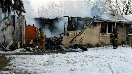 Lower Nazareth Dwelling Fire 1-14-11