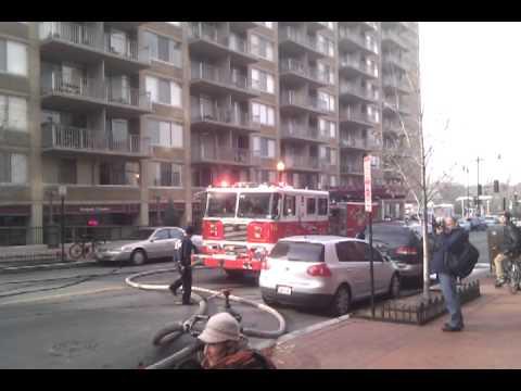 Washington, D.C. Building Fire, NW