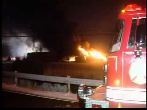 Ohio Chemical Warehouse Fire