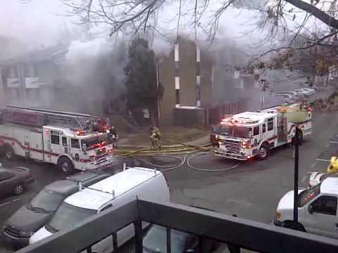 Springfield (VA) Townhouse Fire