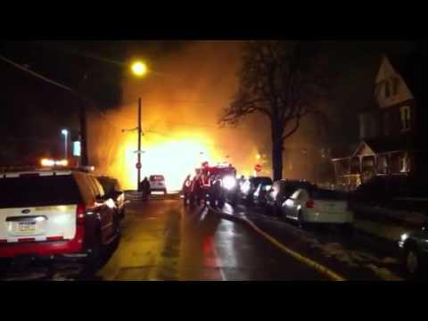 Philadelphia 3-Alarm Gas Main Explosion