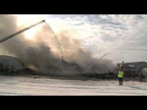 Back to Back Structural Fires in Lehigh Twp. PA