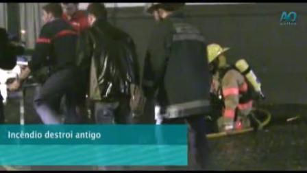 AcoresTube - Incêndio na Baixa de Ponta Delgada (AO) (2)