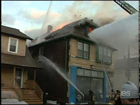 Fire Destroys Detroit Apartment Building