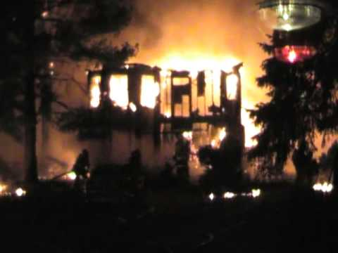 First-Due Video, College Park (MD) Fully-Involved House