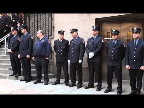 FDNY Salutes Child Cancer Victim