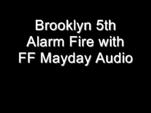 Mayday at Brooklyn 5-Alarm Fire