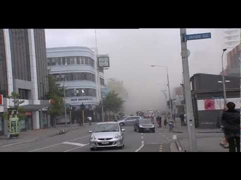 Raw Video: Major Earthquake Hits Christchurch, New Zealand