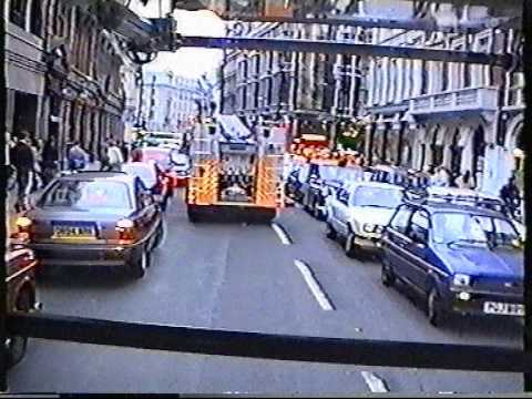 London Fire Brigade - A24 Soho shout - all three