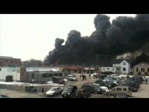 Listowel (Ontario, Canada) Store Fire