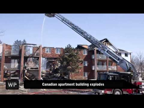 Residents Missing After Ontario Apartment Blast