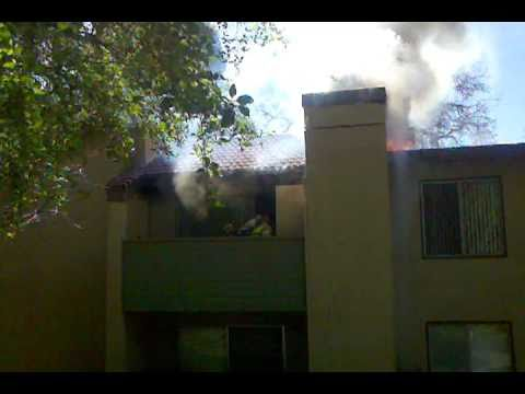 Simi Valley (CA) Apartment Fire