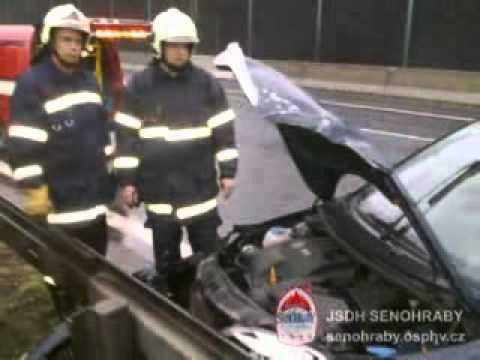 Volunteer firefighters Senohraby - liquidation of emergencies in 2010