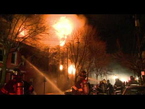 4-alarm Factory Fire, Reading PA