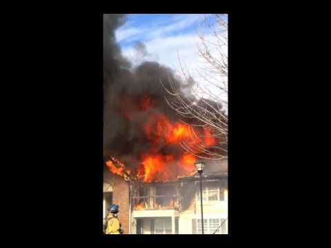 Ohio Apartment, Fire Showing on Arrival