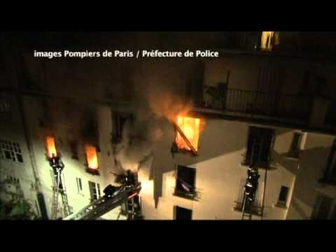 Paris Apartment Fire, Over 50 Hurt, 5 Dead
