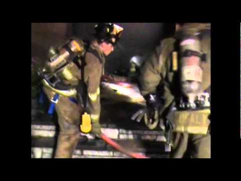 West Nyack (NY) Structure Fire (Part 1)