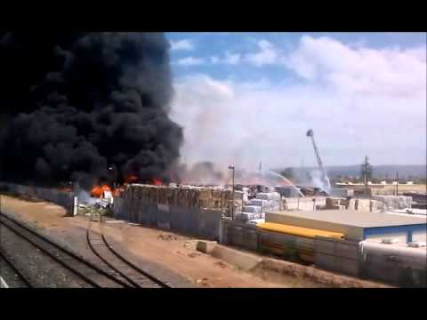 Phoenix Paper Recycling Plant Fire