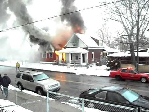 Detroit First Due Fire, Part 1 of 2