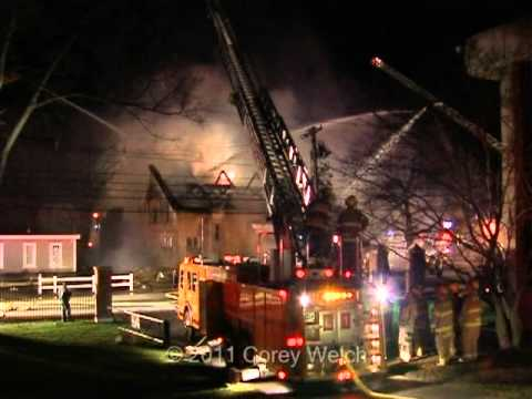 Franklin (MA) 5-Alarm Masonic Temple Fire