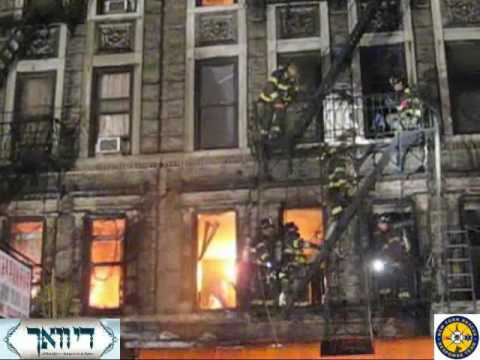 Everybody Out - FDNY Members Evacuate from Manhattan Fire