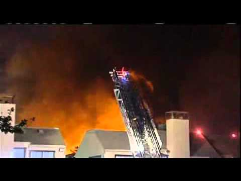 Houston 4-Alarm Apartment Fire