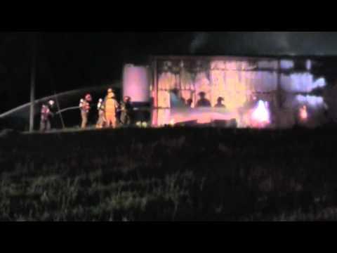 Fire Destroys Taylor Ace Hardware in Cowarts (AL), Ammunition Explosions