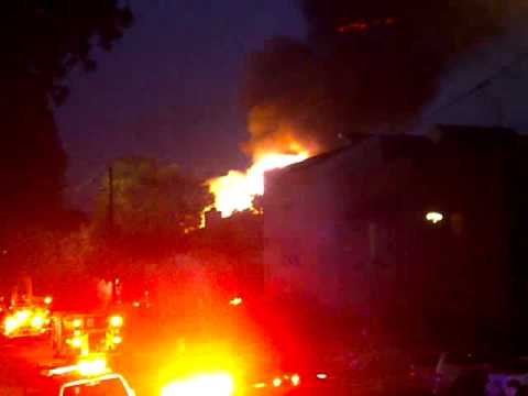 Fire in The Heights, Houston