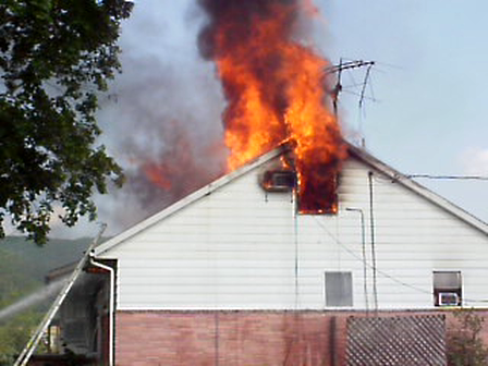 Fishermill Rd house fire