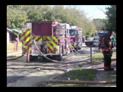 ARLINGTON, TEXAS - HOUSE FIRE - Nov. 09, 2010