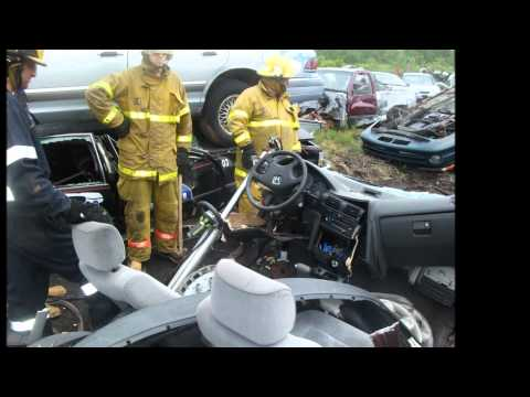 Springhill Fire Dept Vehicle Extrication Trg