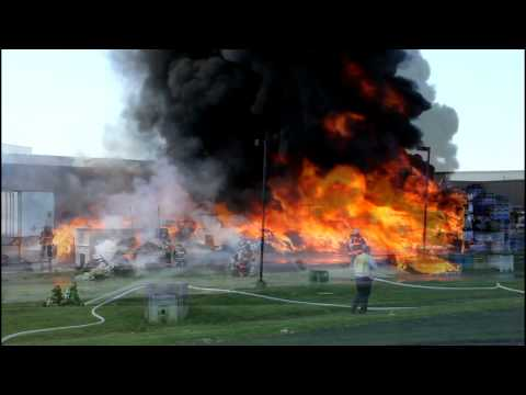 Palmer Township 3rd Alarm National Plastics Fire 7-15-11