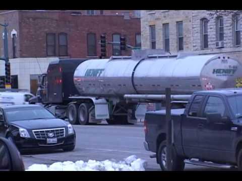 Lockport Fire Prot. District-Hazmat  Incident Tanker Truck Leak
