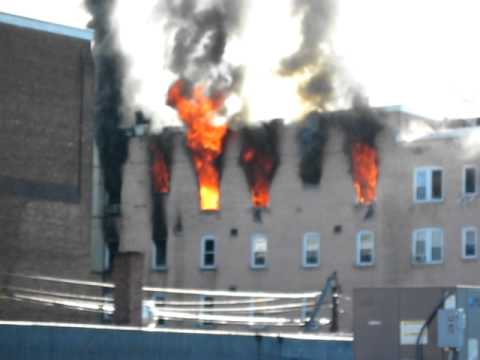 Fire in Poughkeepsie, Kings Street Courts, Cannon Street 9 am Aug. 12th, 2011