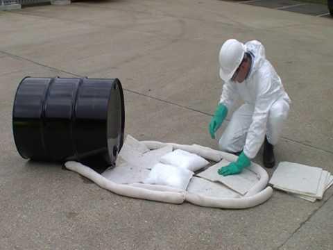 Lubetech - Spill Control Demonstration