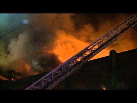 08.13.11 - 5th & 2nd Alarm Simultaneously in Newark, NJ