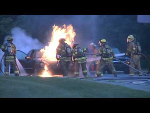 Ethanol-Laced gasoline car fire