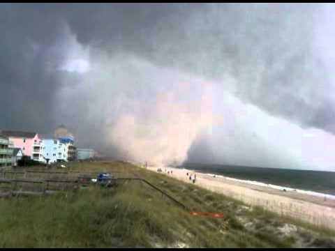 Carolina Beach, NC Waterspout/Tornado 8-18-2011
