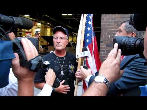 "Joe ""Tiger"" Patricks Arrival at Ground Zero 9-10-11"