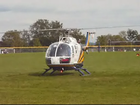 September 19, 2011 ALS Medical with Helicopter landing