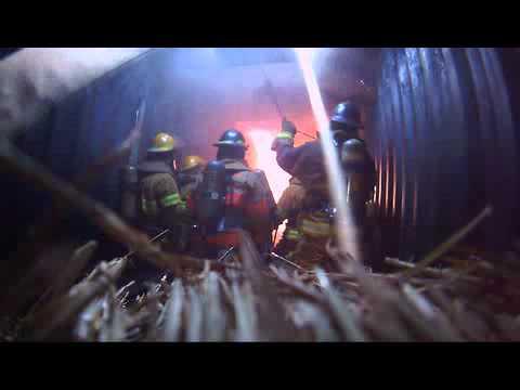 Texas City Fire Dept Flashover Training