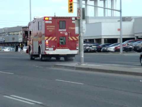 Toronto Fire Service Haz-332 Responding