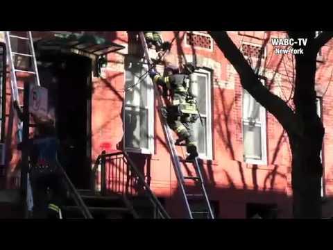 Fire at President Street, Brooklyn