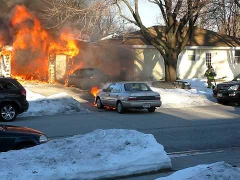 Garage Fire Jan 2, 2011