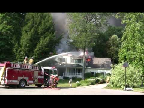 Saybrooke Rd. Structure Fire 5 July 2010 (2)