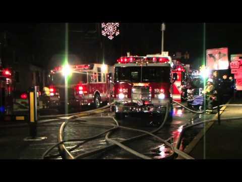 Hatfield (PA) Church Fire